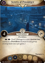Arkham Horror: The Card Game – War of the Outer Gods: Scenario Pack Streets of Providence card
