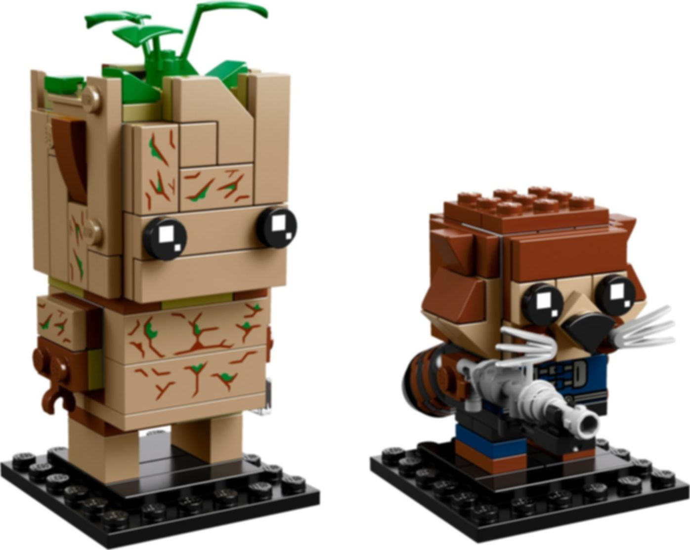 Groot & Rocket components