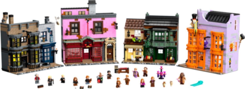 LEGO® Harry Potter™ Diagon Alley™ components
