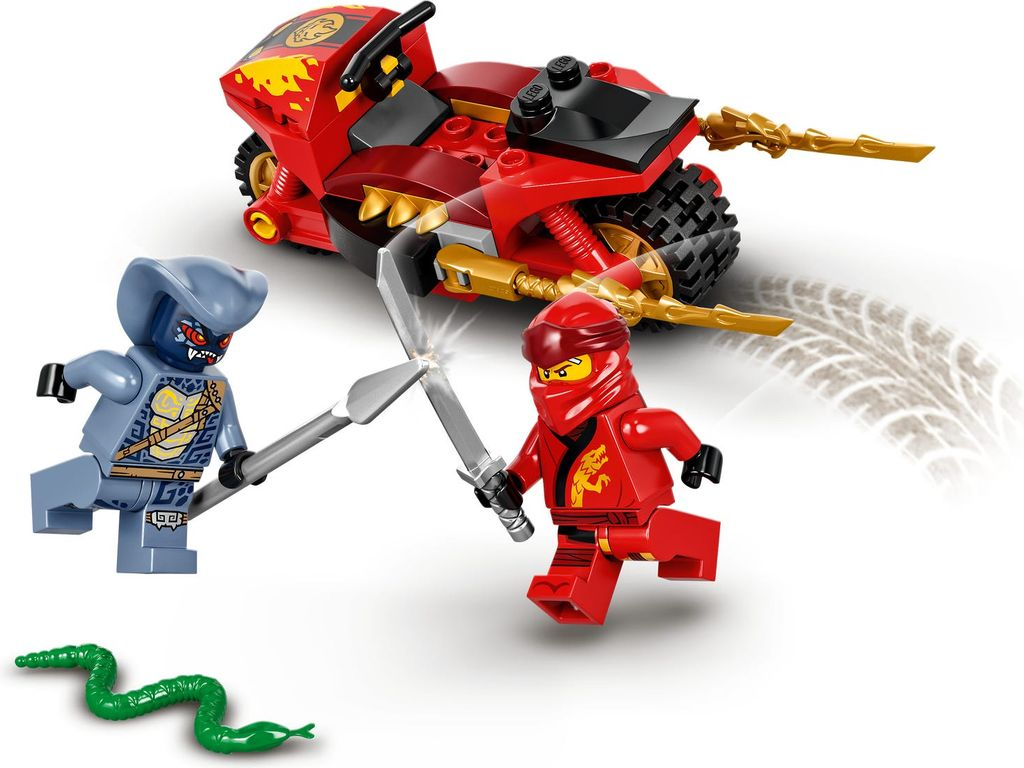 LEGO® Ninjago Kai's Blade Cycle gameplay