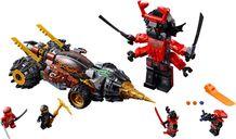 LEGO® Ninjago Cole's Earth Driller components