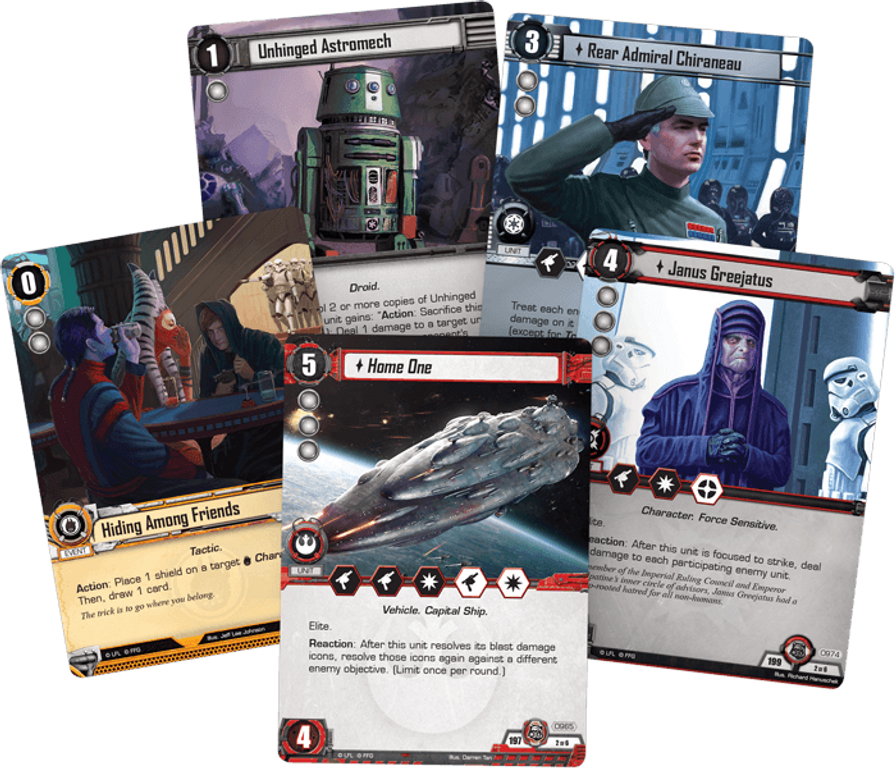 Star Wars: The Card Game - The Forest Moon card