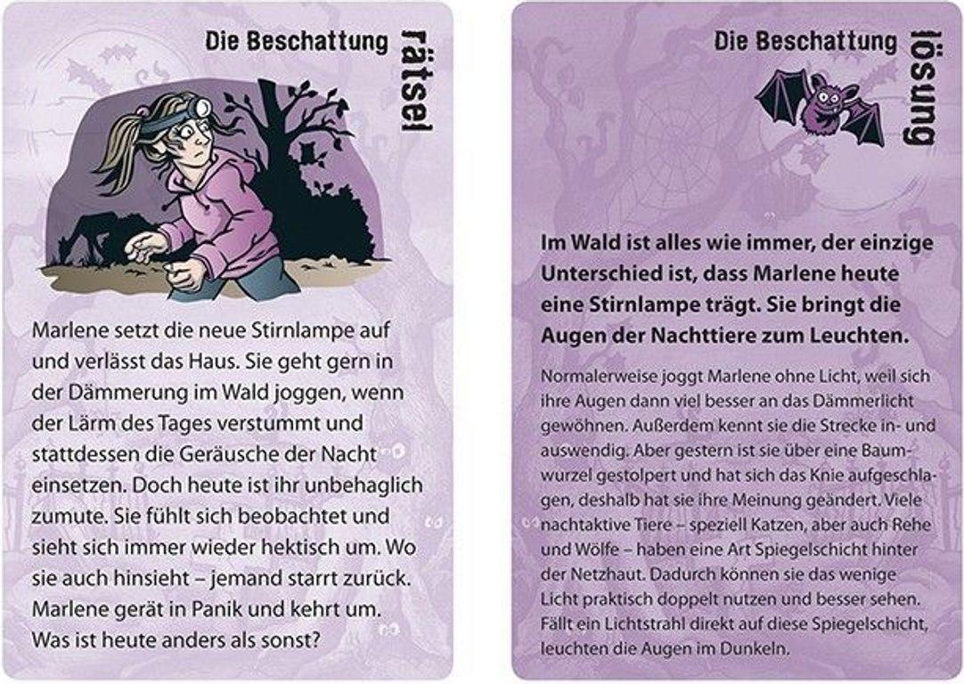 Purple Stories cards
