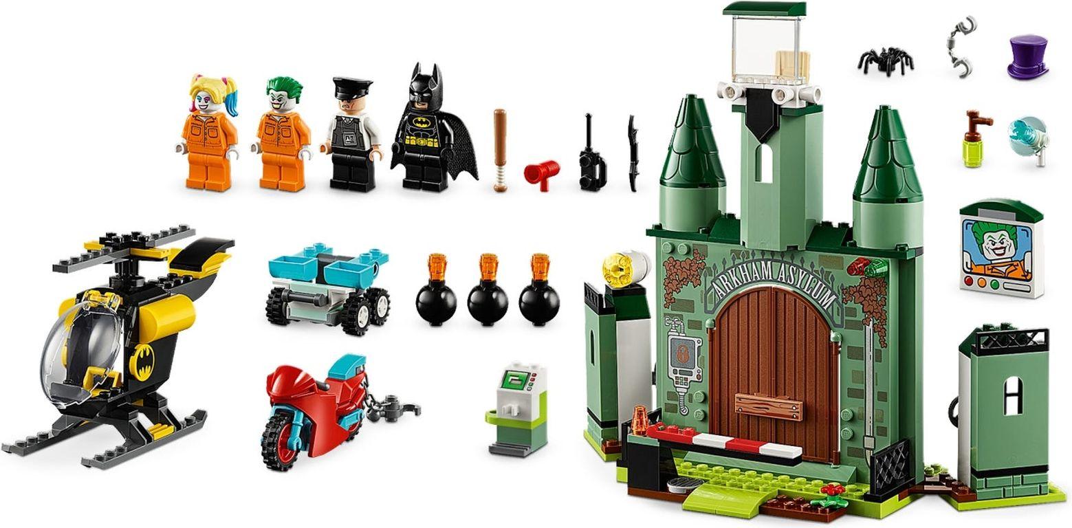 LEGO® DC Superheroes Batman™ and The Joker™ Escape components