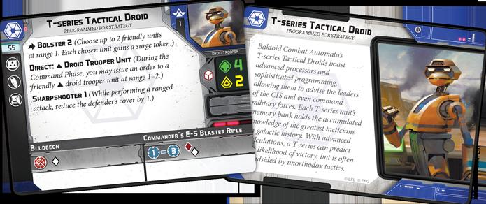 Star Wars: Legion – Separatist Specialists Personnel Expansion karten