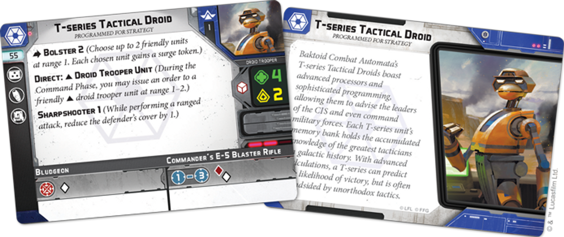 Star Wars: Legion – Separatist Specialists Personnel Expansion cartas