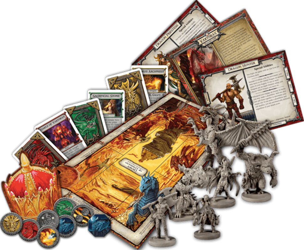 Talisman (Revised 4th Edition): The Dragon Expansion components