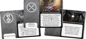 Star Wars: X-Wing (Second Edition) – Droid Tri-Fighter Expansion Pack cards