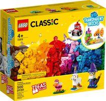 LEGO® Classic Creative Transparent Bricks