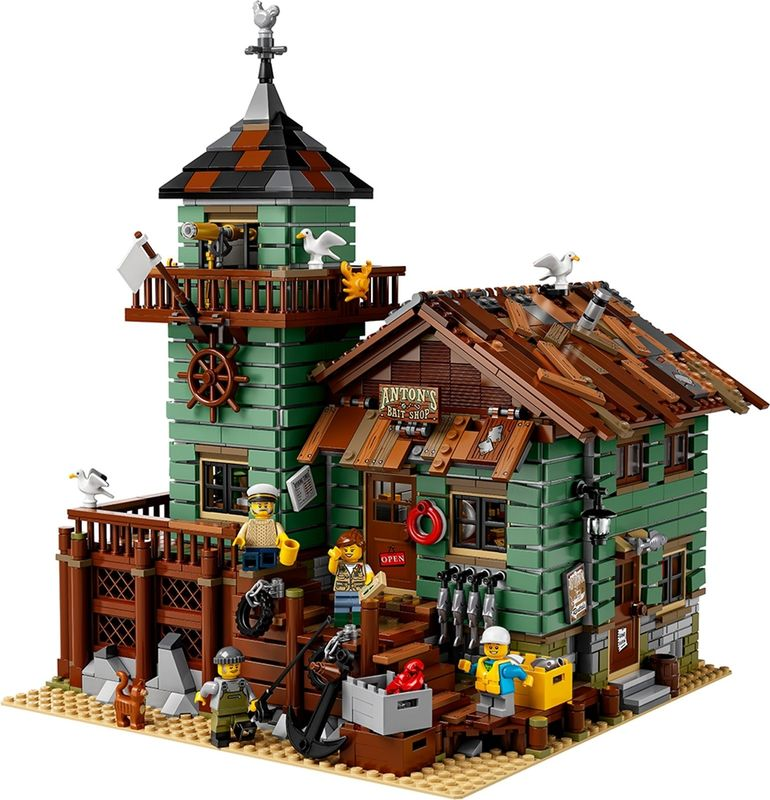 LEGO® Ideas Old Fishing Store