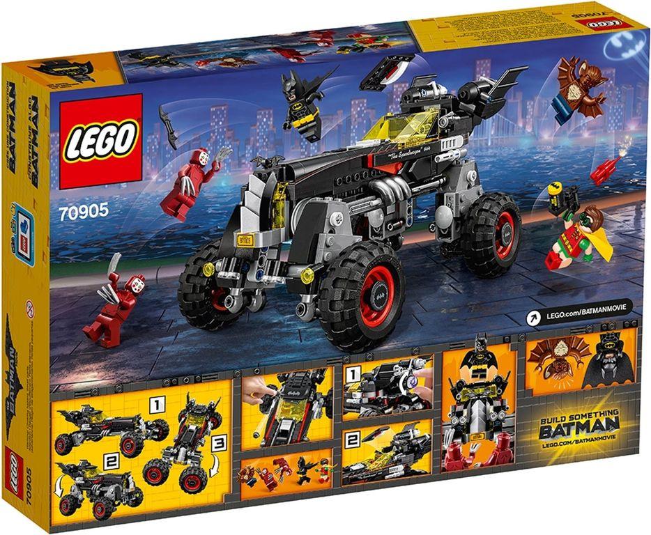LEGO® Batman Movie The Batmobile back of the box