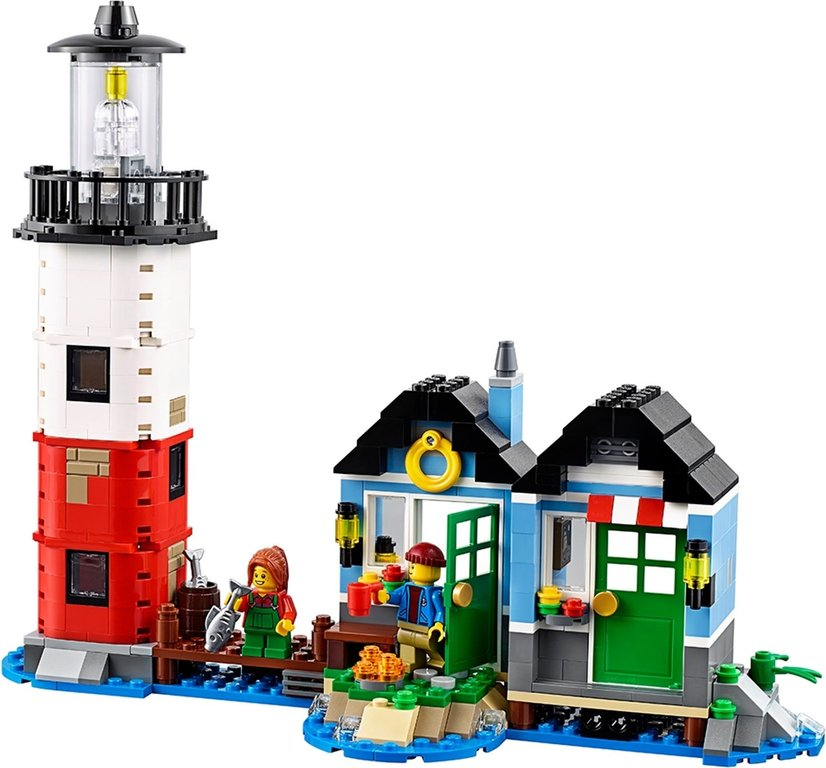 LEGO® Creator Lighthouse Point components