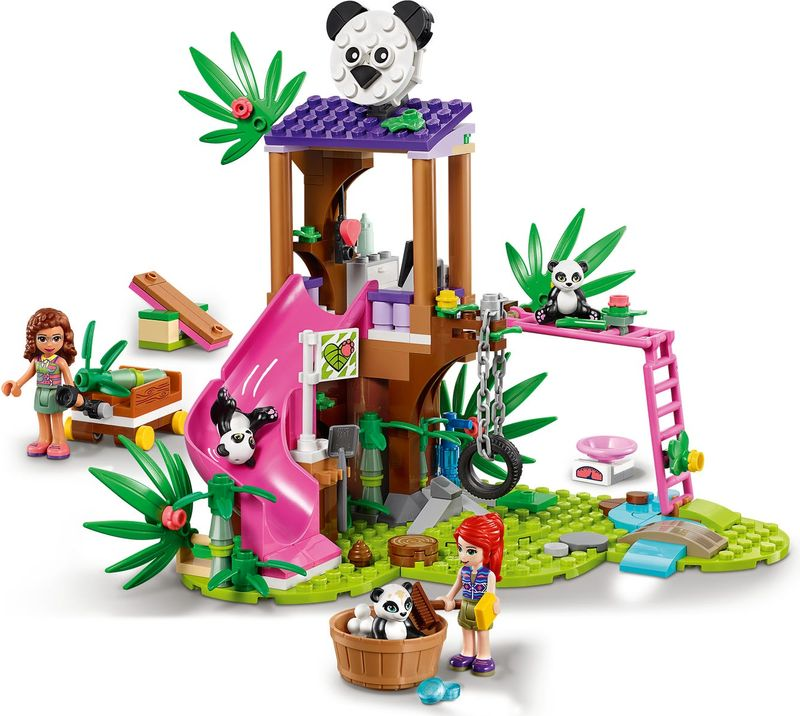 LEGO® Friends Panda Jungle Tree House gameplay