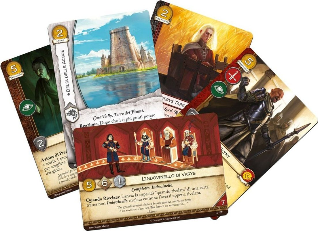 A Game of Thrones: The Card Game (Second Edition) - Across the Seven Kingdoms cards