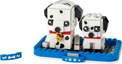 LEGO® BrickHeadz™ Dalmatian components