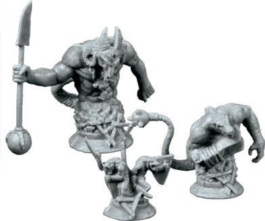 Chaos in the Old World: The Horned Rat Expansion miniatures