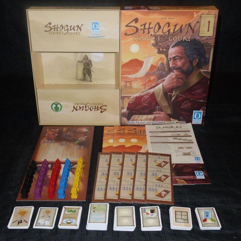 Shogun: Tenno's Court components