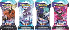 Pokémon TCG: Sword & Shield-Chilling Reign Sleeved Booster Pack box