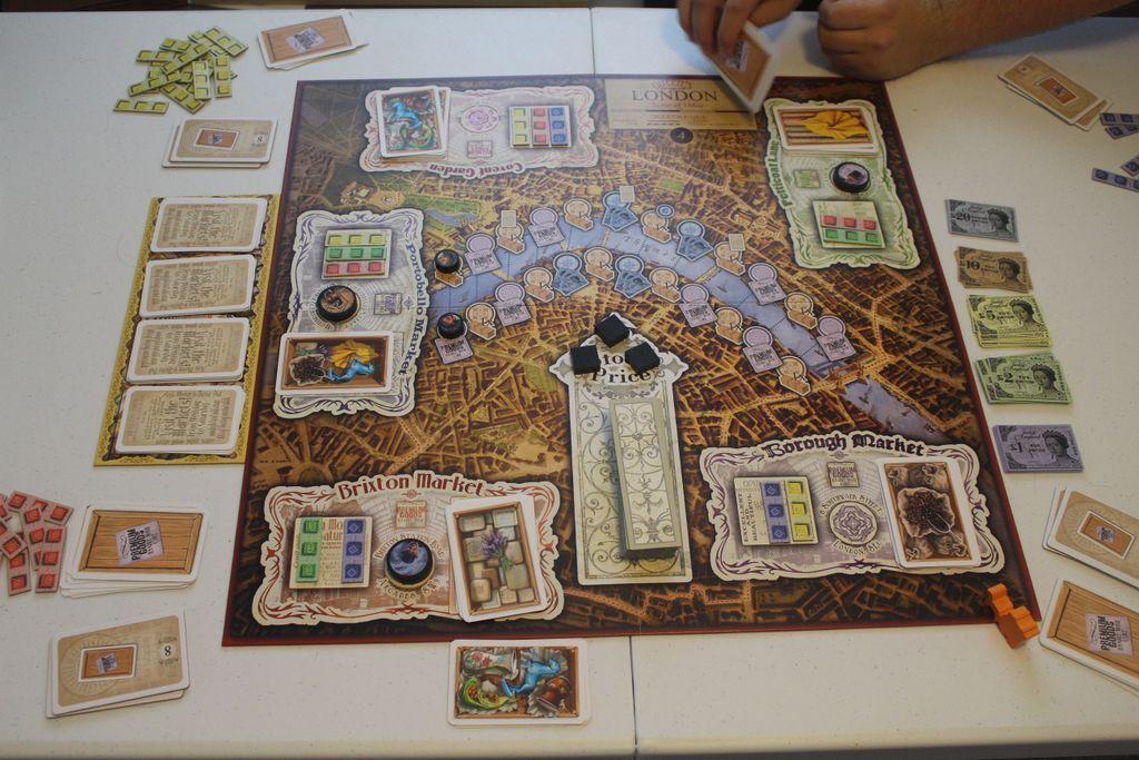 London Markets gameplay