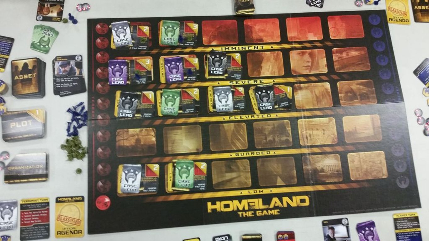 Homeland: The Game gameplay