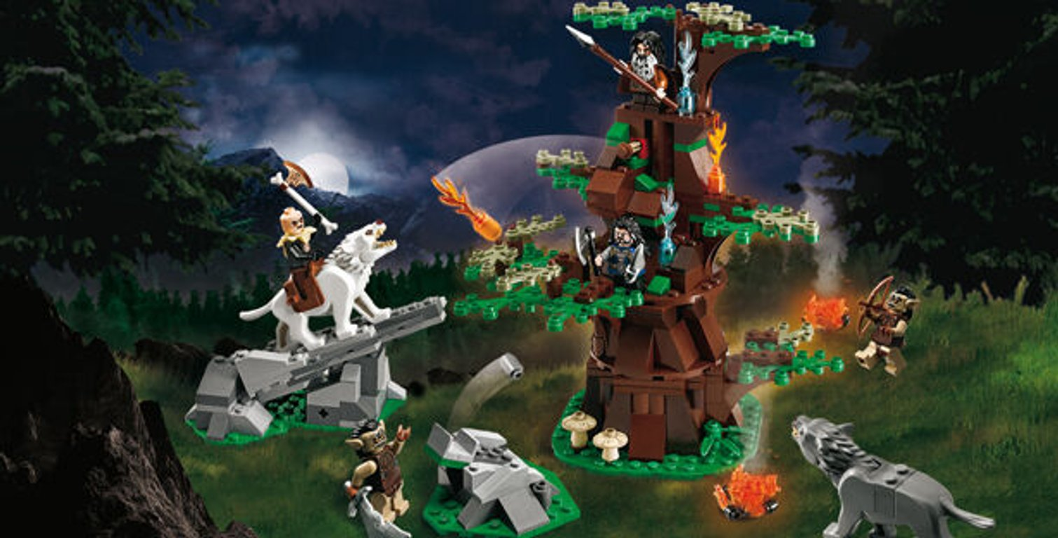 LEGO® The Hobbit Attack of the Wargs gameplay