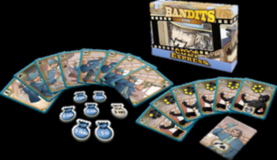 Colt Express: Bandits – Doc components