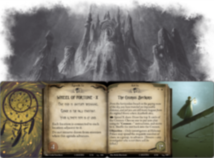 Arkham Horror: The Card Game - Before the Black Throne: Mythos Pack cards