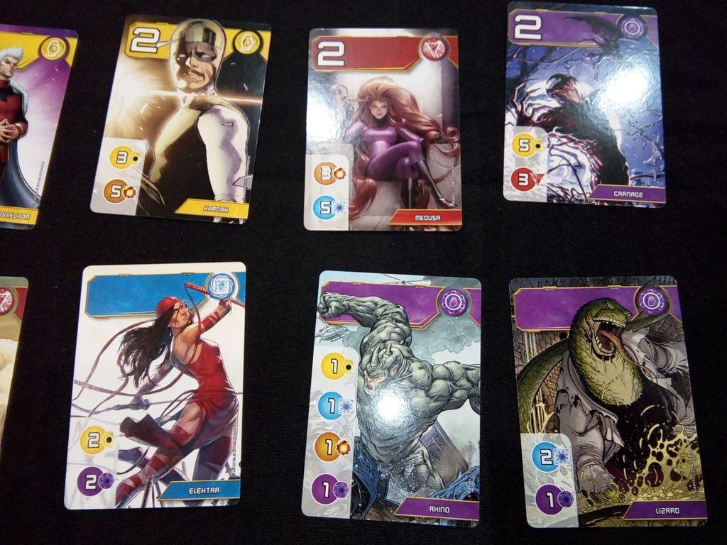 Splendor Marvel cards