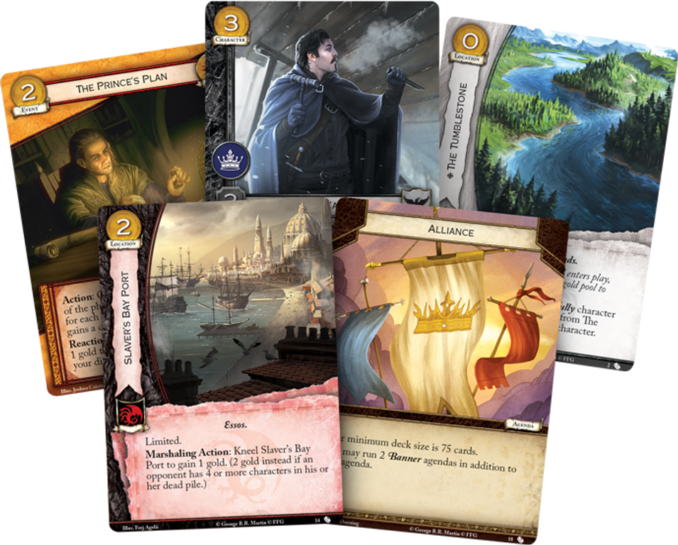 A Game of Thrones: The Card Game (Second Edition) - All Men Are Fools cards