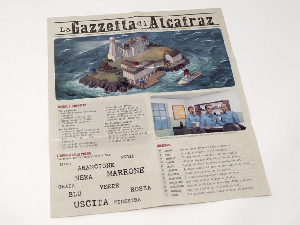 Deckscape: Escape from Alcatraz manual