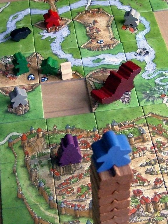 Carcassonne: The Tower gameplay