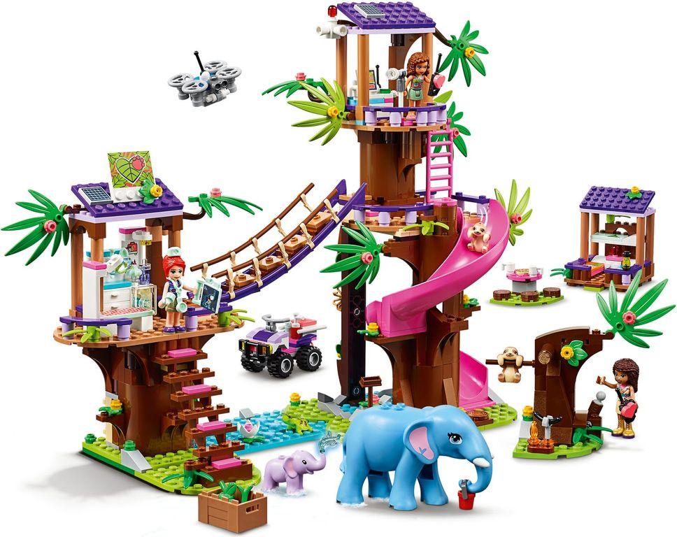 LEGO® Friends Jungle Rescue Base gameplay