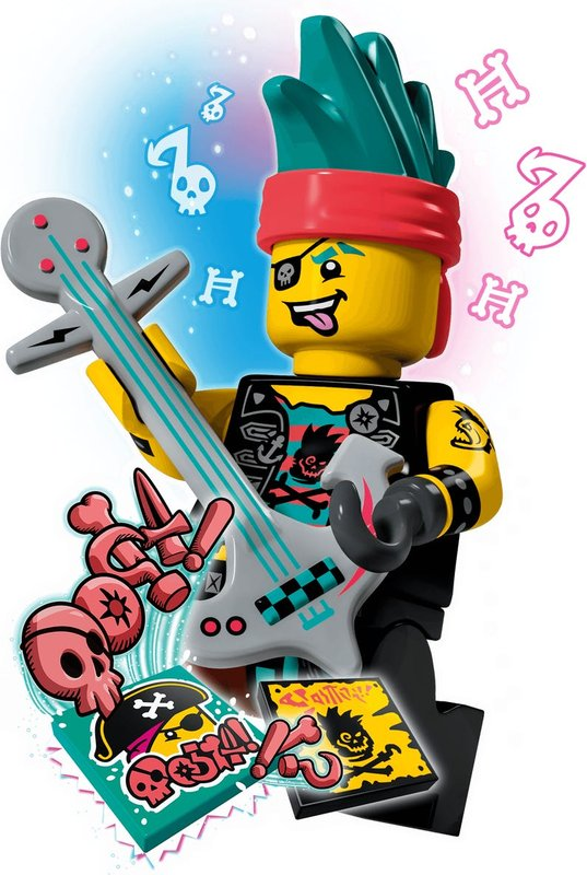 Punk Pirate BeatBox minifigures