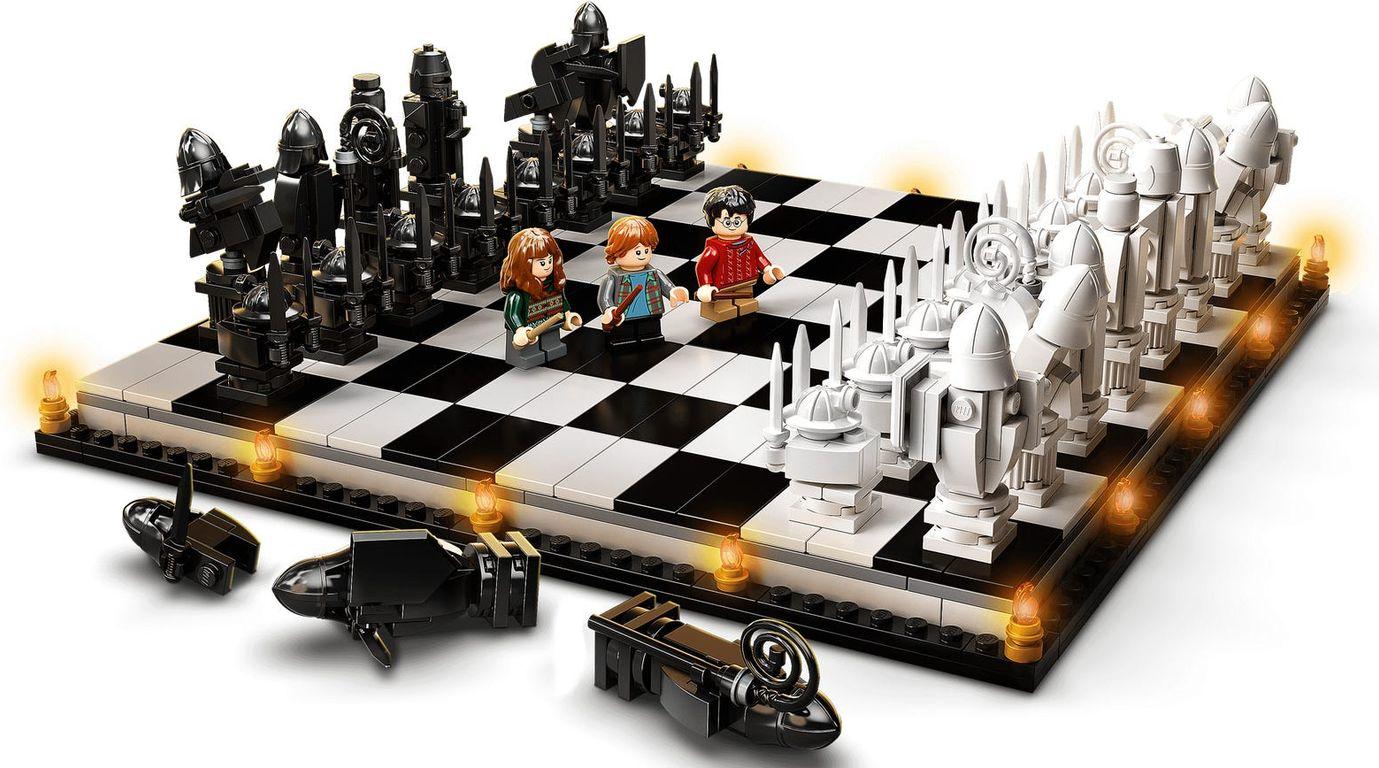 LEGO® Harry Potter™ Hogwarts™ Wizard's Chess gameplay