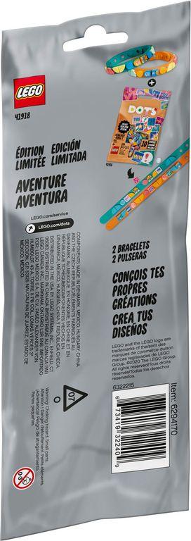 Adventure Bracelets back of the box
