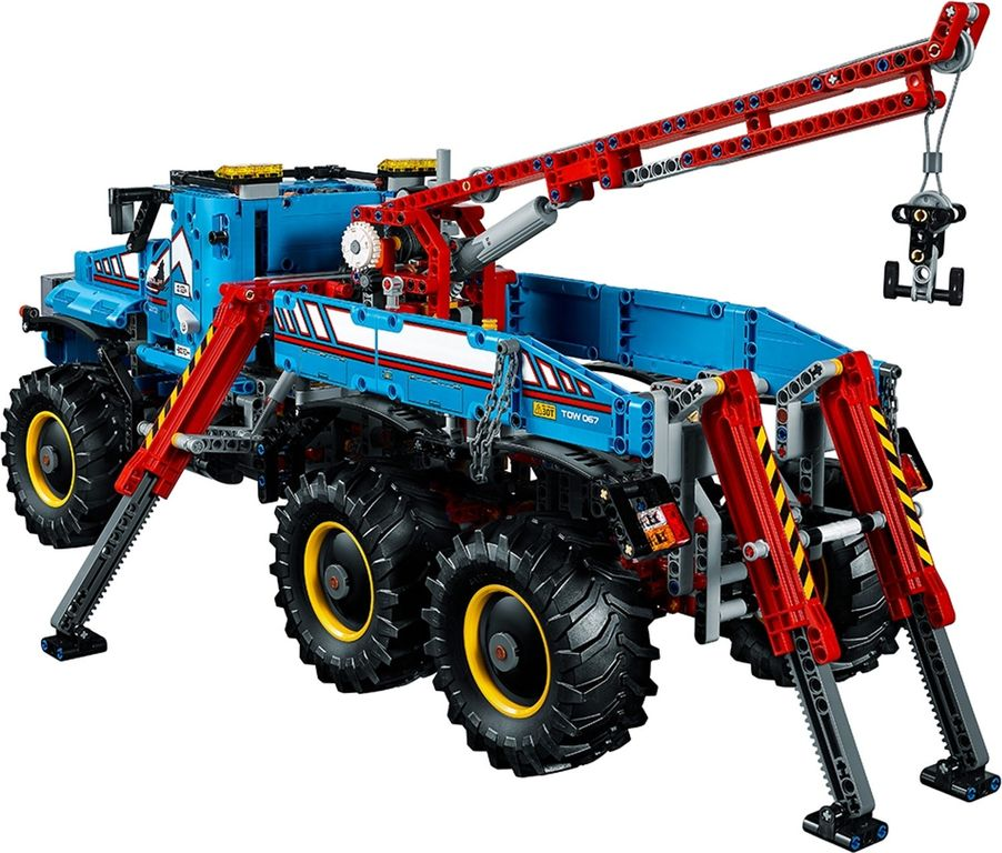 LEGO® Technic 6x6 All Terrain Tow Truck back side