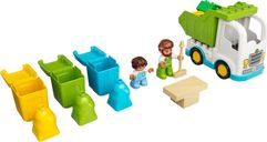 LEGO® DUPLO® Garbage Truck and Recycling components