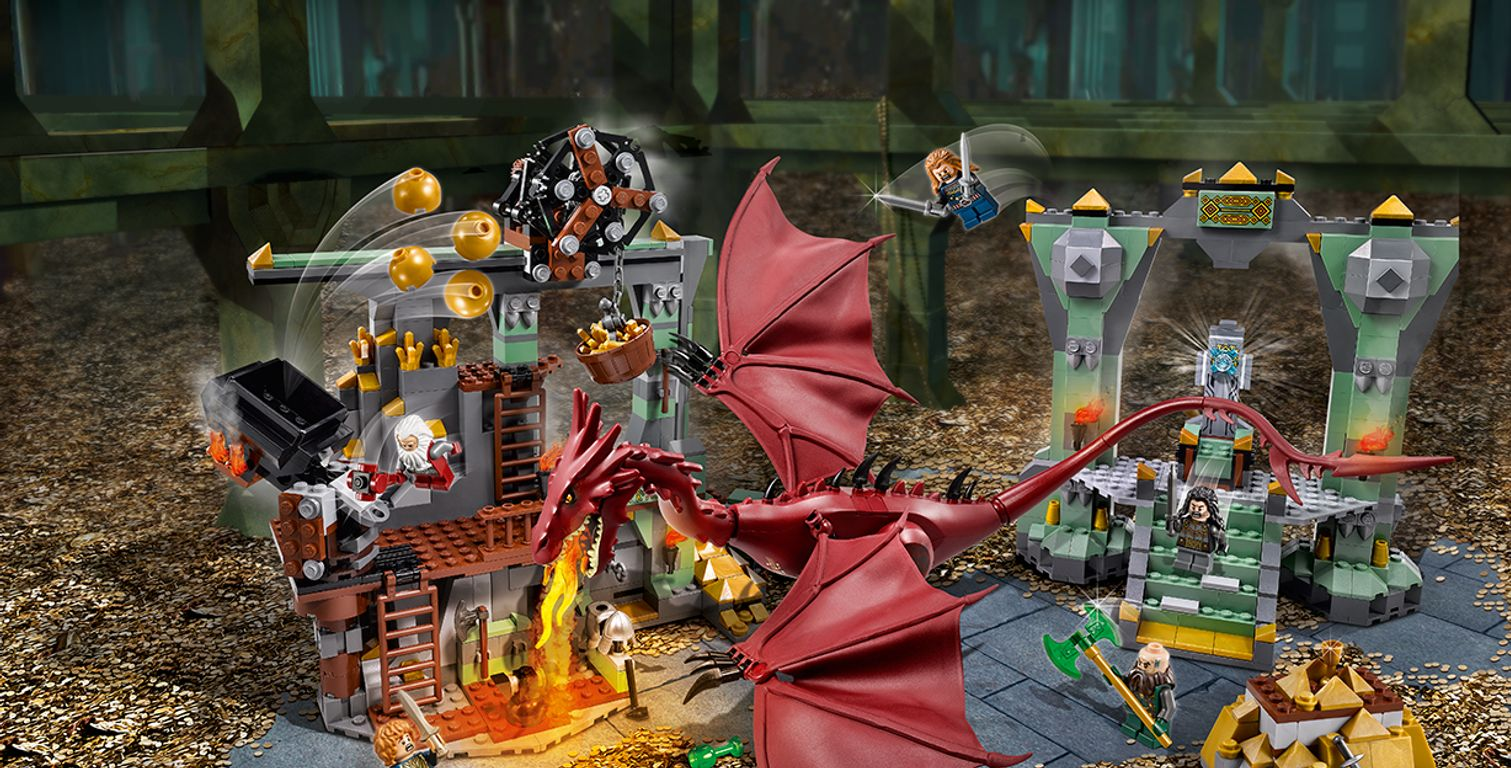 LEGO® The Hobbit The Lonely Mountain gameplay