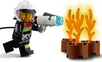 LEGO® City Fire Hazard Truck minifigures