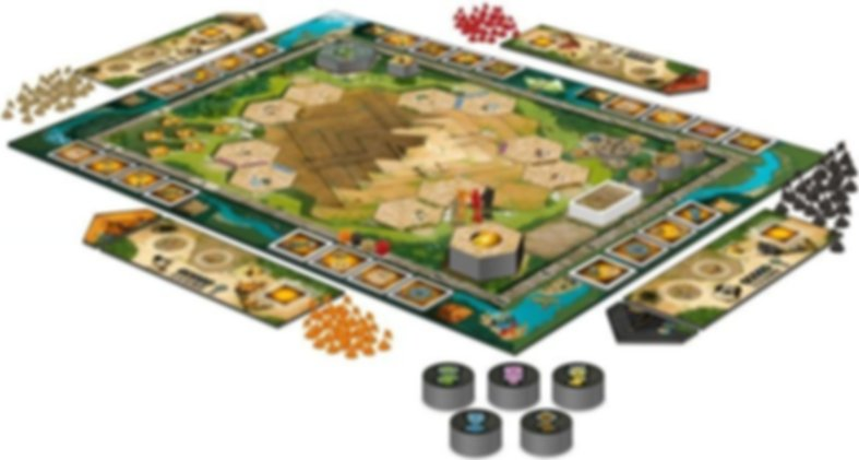 Tikal II: The Lost Temple components