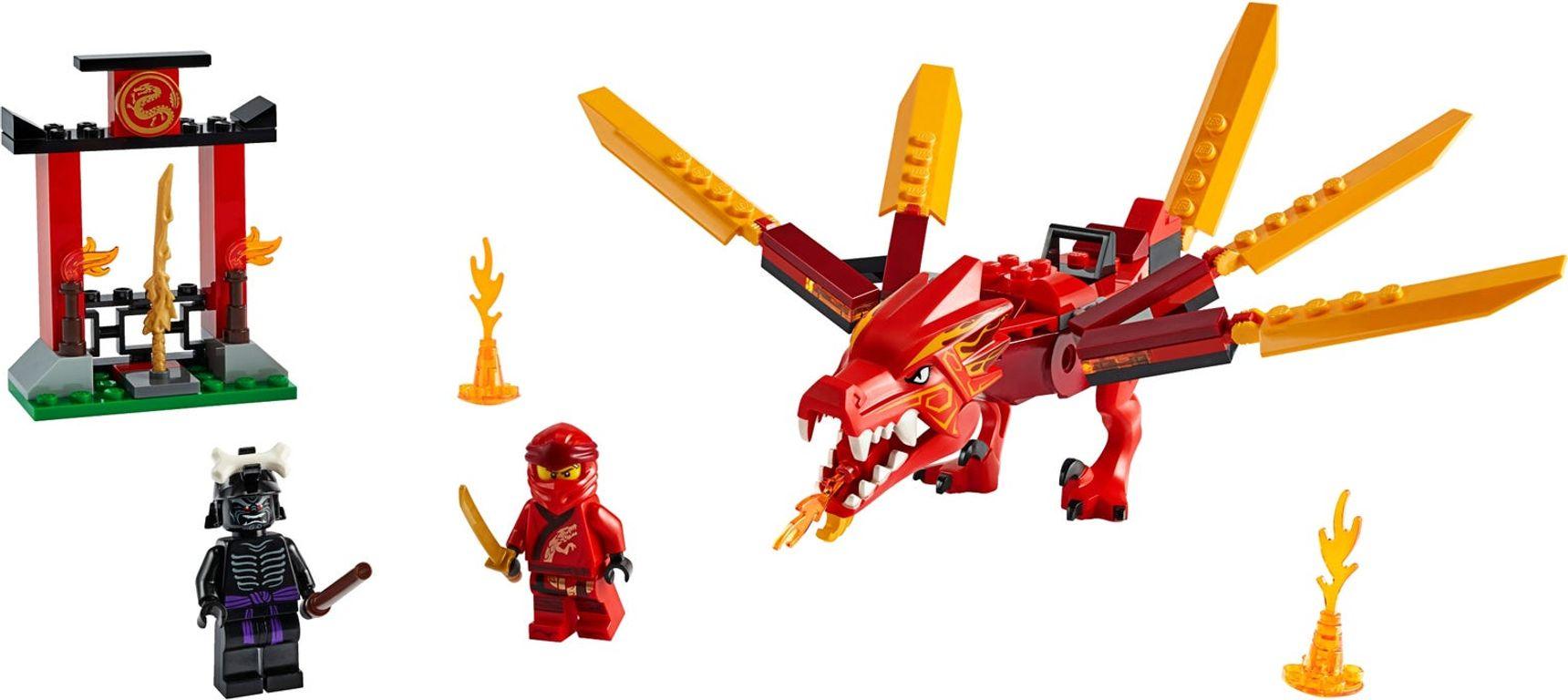 Kai's Fire Dragon components
