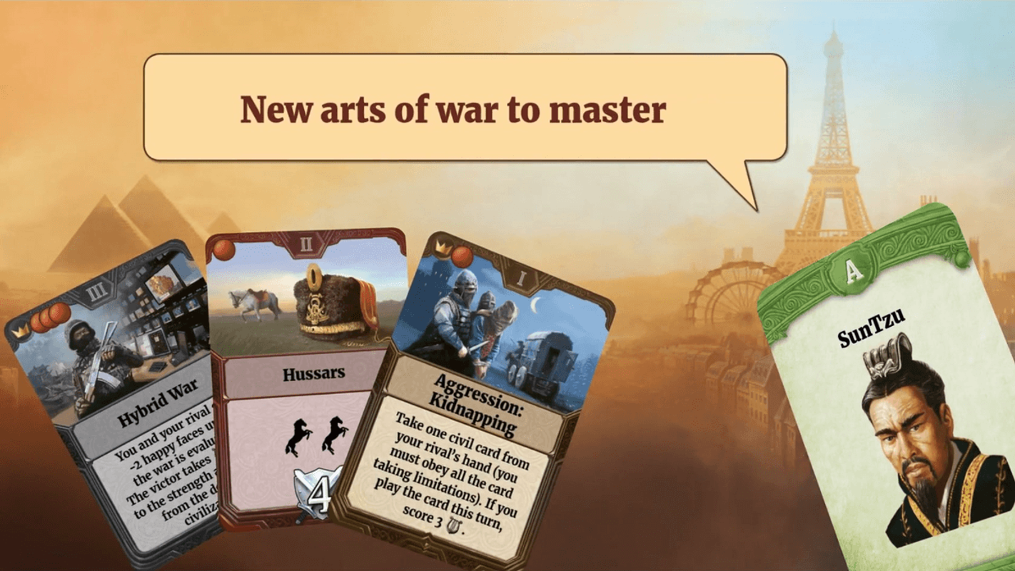 Through the Ages: New Leaders and Wonders components