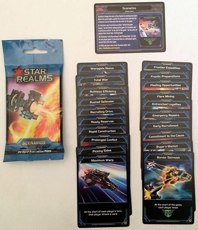 Star Realms: Scenarios cards