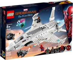 LEGO® Marvel Stark Jet and the Drone Attack