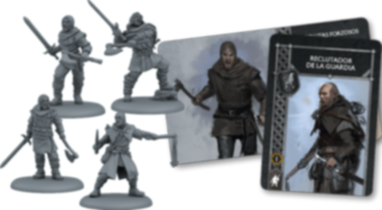 A Song of Ice & Fire: Tabletop Miniatures Game – Conscripts components