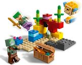 LEGO® Minecraft The Coral Reef gameplay