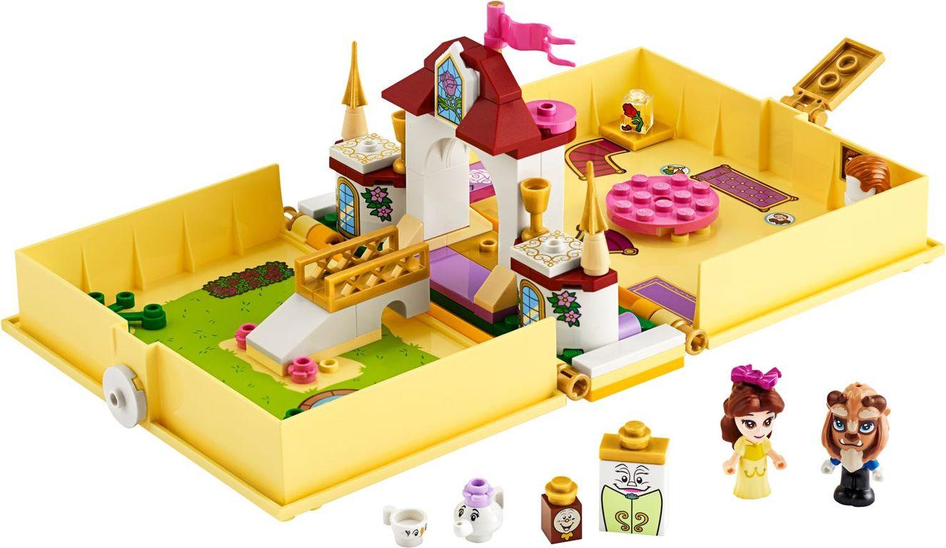 LEGO® Disney Belle's Storybook Adventures components