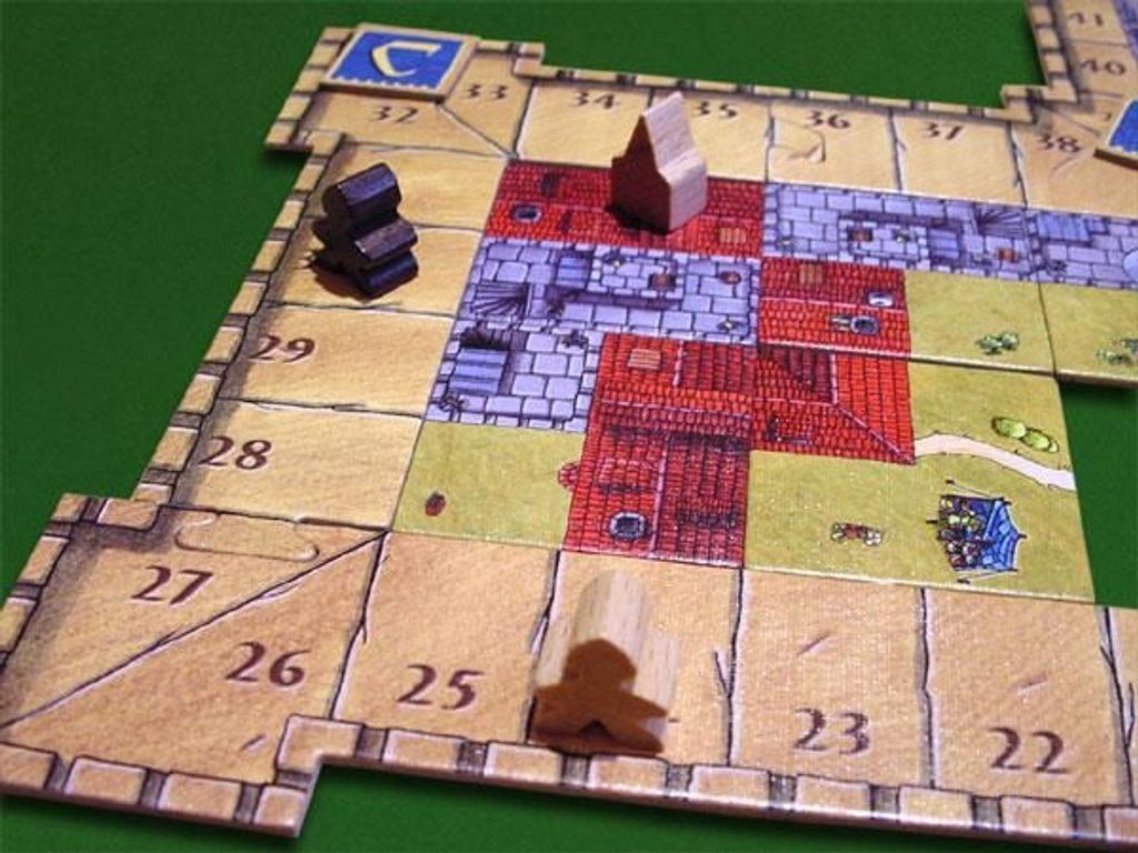 Carcassonne: The Castle gameplay