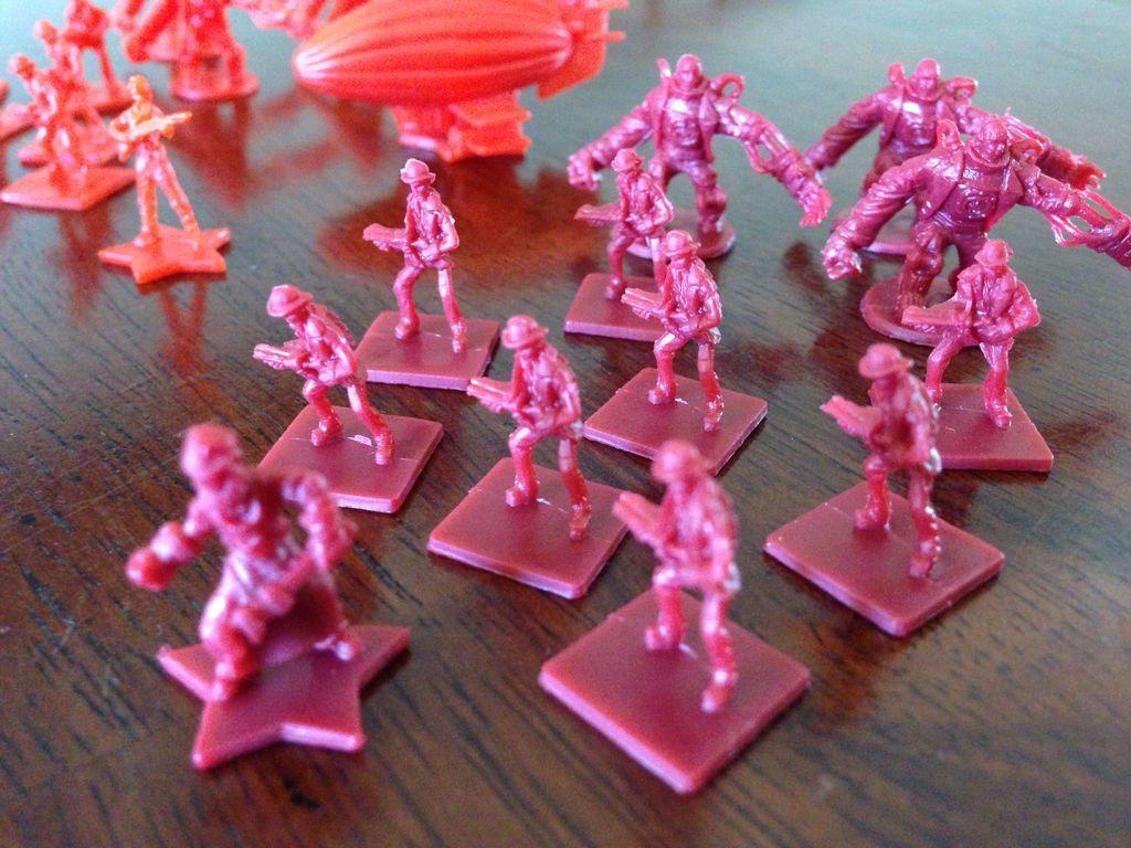 Bioshock Infinite: The Siege Of Columbia miniatures