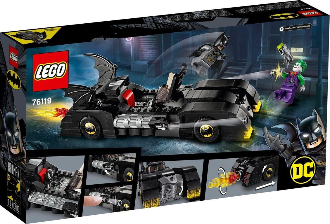 Batmobile™: Pursuit of The Joker™ back of the box